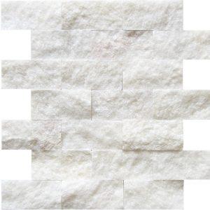 KR1174 Berna White 48 * 100mm Fehér Márvány