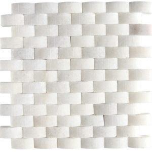 KR1198 Korel White 23 * 48mm Fehér Márvány