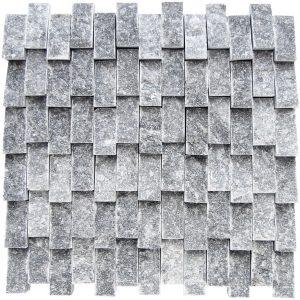 KR1208 Tuna Gray 23 * 48 mm világos szürke márvány