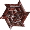 KR1361 Beste Bordó cseresznye márvány