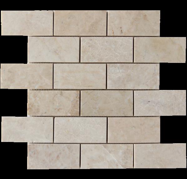 KR1414 Sayil 48x98mm Bézs Márvány mozaik Egységcsomagban 0,54 ㎡